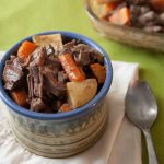 Nothing is as comforting as this flavorful, fork-tender oven pot roast. Best of all, this is ready for the oven in only 15 minutes, and uses simple ingredients you probably have in your pantry! | www.pinchmeimeating.com