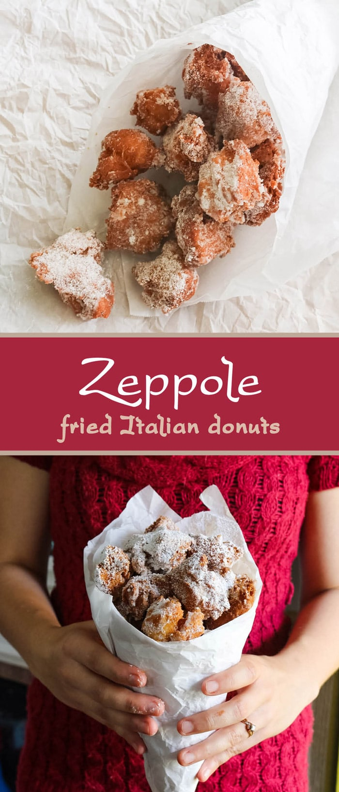 These Zeppole Are Semi Dense Not Too Sweet Fried Italian Donuts