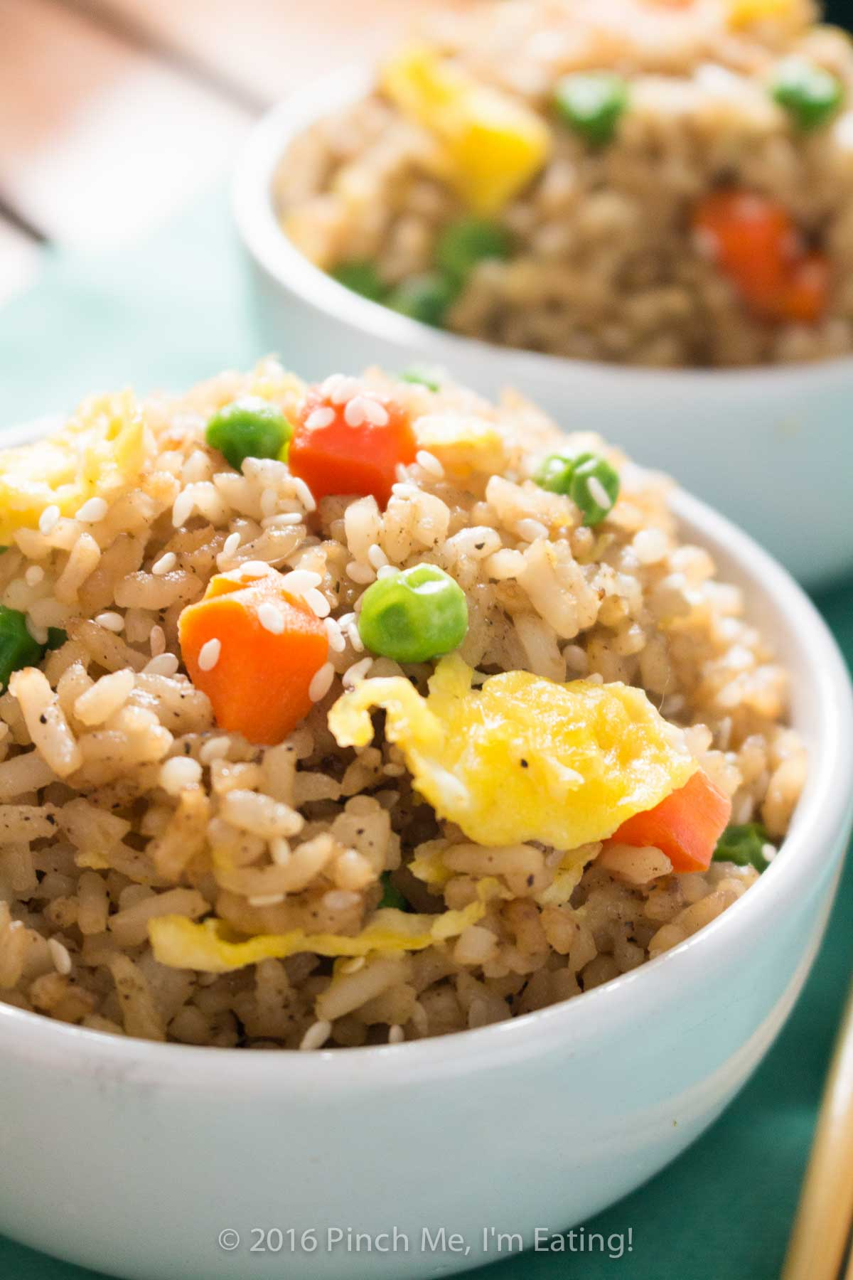 Easy vegetable fried rice with egg pinch me im eating who needs takeout when you can whip up this easy vegetable fried rice at home ccuart Images
