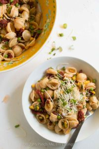 Sun-Dried Tomato Pasta Salad with Peas and Parmesan | 24 Recipes for a Casual Easter Potluck