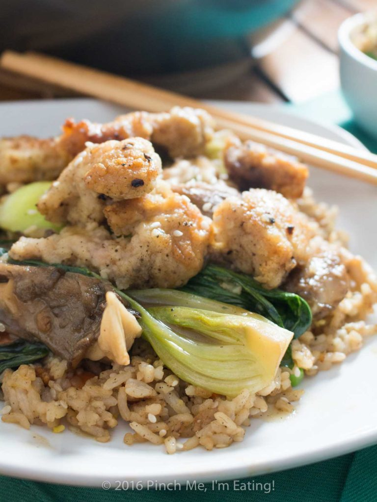 Chicken with Baby Bok Choy and Mushrooms | Pinch me, I'm ...