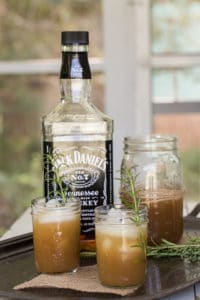 27 Herb-Infused Drinks to Prove Herbs Have a Sweet Side | Apple and Rosemary Whiskey Cocktail from Grey is the New Black
