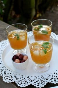 27 Herb-Infused Drinks to Prove Herbs Have a Sweet Side | Basil-infused Mango Aam Panna from Spice in the City
