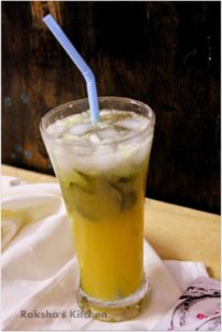 27 Herb-Infused Drinks to Prove Herbs Have a Sweet Side | Cucumber Orange Mocktail With Curry Leaves from Raksha's Kitchen