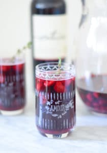 27 Herb-Infused Drinks to Prove Herbs Have a Sweet Side | Raspberry Thyme Sangria from Luci's Morsels
