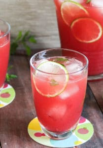 27 Herb-Infused Drinks to Prove Herbs Have a Sweet Side | Watermelon & Mint Aguas Frescas from The Cook's Pyjamas