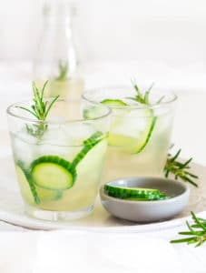 27 Herb-Infused Drinks to Prove Herbs Have a Sweet Side | Rosemary and Cucumber Infused Ginger Beer (from Recipes from a Pantry)