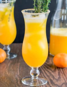 27 Herb-Infused Drinks to Prove Herbs Have a Sweet Side | Orange Thyme Mocktail from KiipFit