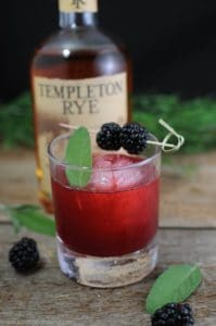 27 Herb-Infused Drinks to Prove Herbs Have a Sweet Side | The Sage Advice Cocktail (Blackberry, Sage, and Whiskey) from The Gastronom