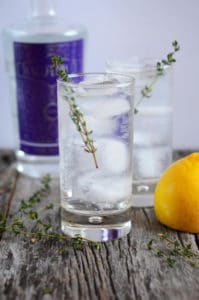 27 Herb-Infused Drinks to Prove Herbs Have a Sweet Side | Thyme of Your Life Cocktail from A Life Well Consumed