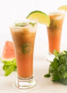 27 Herb-Infused Drinks to Prove Herbs Have a Sweet Side | Watermelon Cilantro Drink from KiipFit