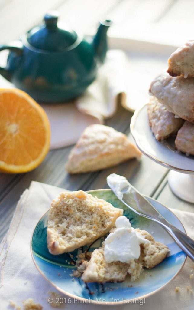 Cardamom Orange Scones with Orange Glaze | Pinch me, I'm ...