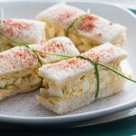 Deviled Egg Salad Finger Sandwiches | 24 Recipes for a Casual Easter Potluck