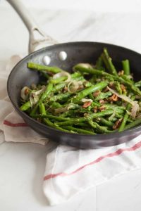Skillet Asparagus with Pecans | 24 Recipes for a Casual Easter Potluck