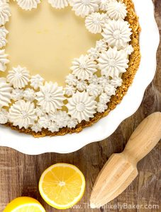 Dreamy Creamy Meyer Lemon Pie | 24 Recipes for a Casual Easter Potluck
