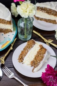 Cheesecake Layered Carrot Cake | 24 Recipes for a Casual Easter Potluck
