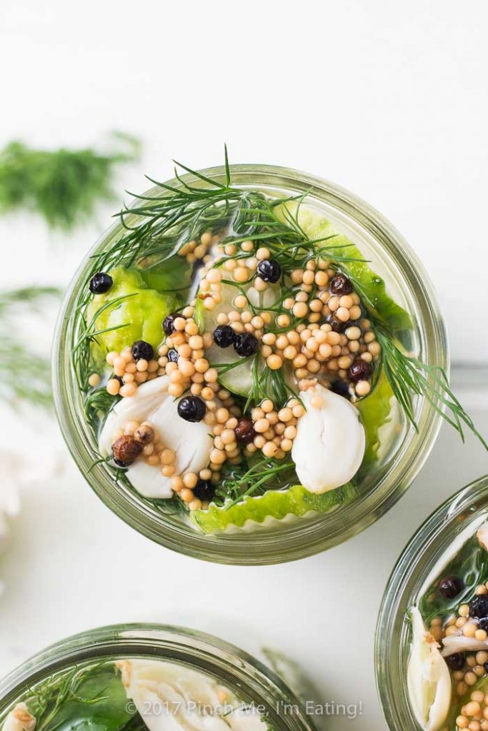 Bright, fresh, garlicky, tangy, and full of that classic dill pickle flavor, these refrigerator dill pickles won't disappoint! You'll never go back to store-bought again!