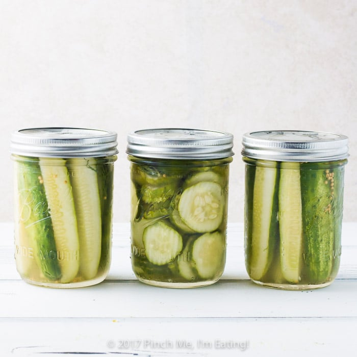 Best Ever Refrigerator Dill Pickles
