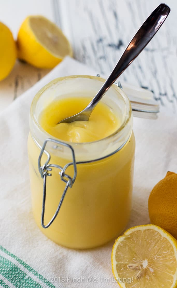 Luscious, tangy lemon curd doesn't have to require constant babysitting on the stove - this easy lemon curd recipe is foolproof, silky, and delicious!