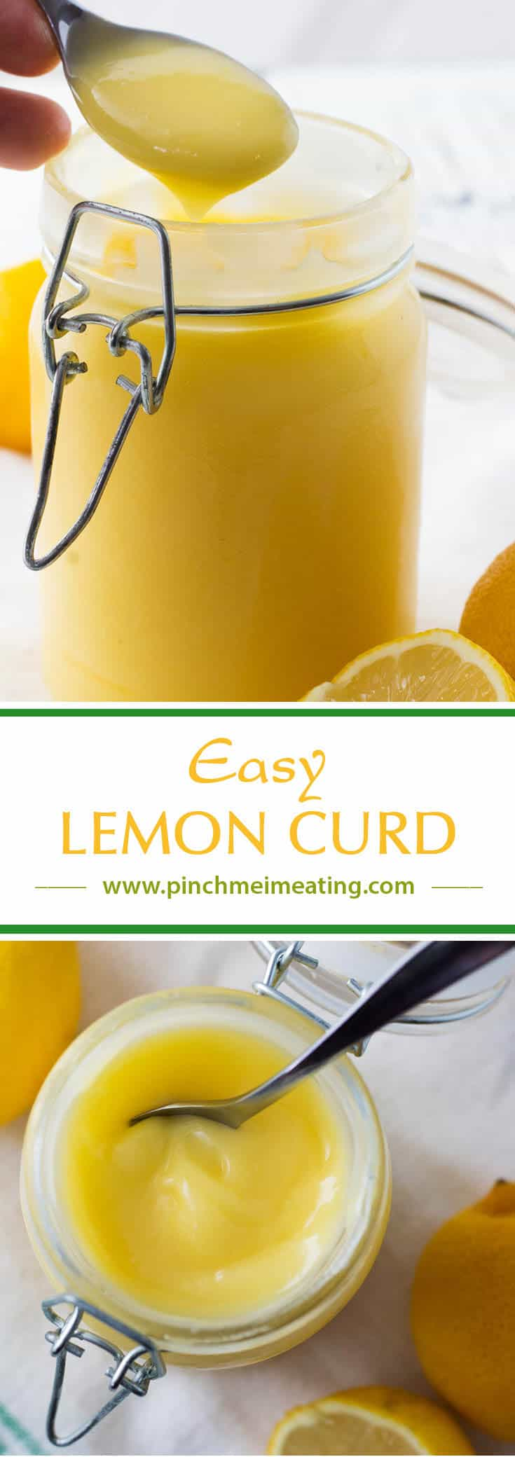 Luscious, tangy lemon curd doesn't have to require constant babysitting on the stove - this easy lemon curd recipe is foolproof, silky, and delicious! Perfect for spreading on scones.#afternoontea #recipes #teatime