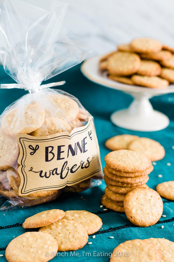 Benne Wafers – Charleston's Classic Sesame Seed Cookies