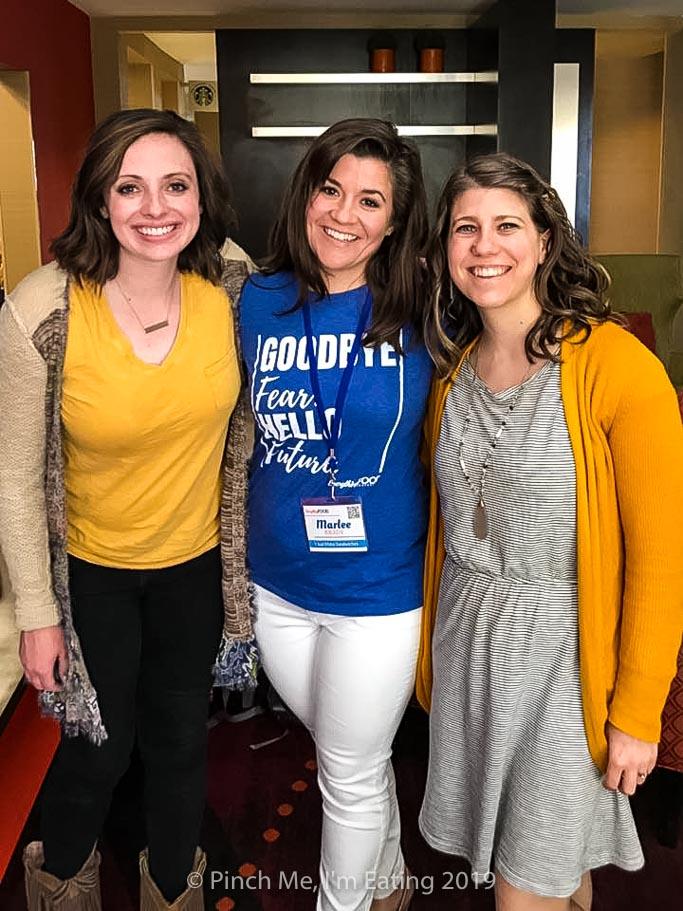 Food bloggers Alli Kelley, Marlee Brady, and Caroline Lindsey