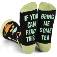 If You Can Read This Bring Me Some Tea Novelty Socks