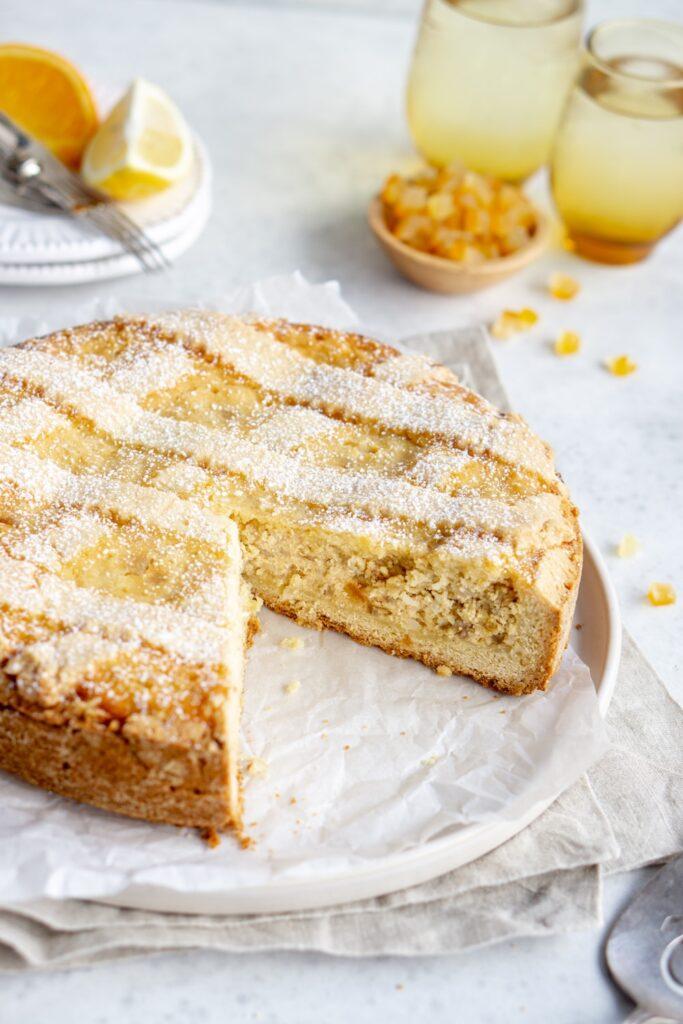 Pastiera Napoletana - Traditional Italian Easter Dessert